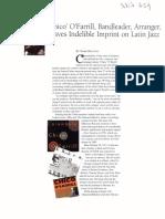3627 Mark Holston. Chico O'Farrill, Bandleader, Arranger, Leaves Indelible Imprint on Latin Jazz