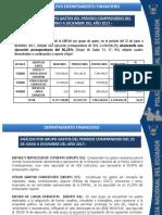 Informe de Relevo Financiero