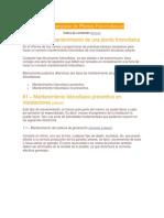 Mantenimiento de Plantas Fotovoltaicas