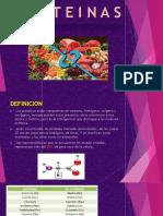 Nutrición-Proteínas