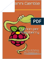 Giovanni Gentile - Python Per Raspberry PI