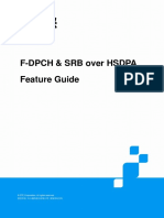 Zte Umts F-dpch & Srb Over Hsdpa Feature Guide