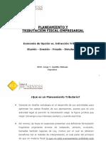 Planeamiento y Tributación Fiscal Empresarial