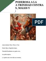 Oracion Poderosa a La Santisima Trinidad Contra Enemigos, Males y Peligros