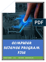 Cs Program File Class 12