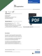 WIKA Sensors - A10 Datasheet - DS_PE8160_en_co_1631
