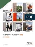 Calendario Sgs Academy