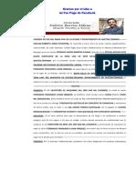 Modelo de Memorial Inicial de Pruebas Anticipadas de Declaración Jurada.pdf