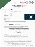 Telurometro Digital MEGABRAS Serie 13k2203 Calibración 20.06.2017