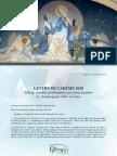 [FRANÇAIS] Lettre de Carême 2018 – famille vincentienne
