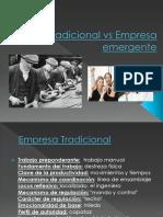 Empresa Tradicional vs Empresa Emergente