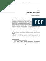 16 - Qué es la tradición.doc