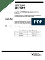 AD - NI6009 Manual