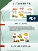 Nutrición - Vitaminas