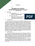 Proy. Palabra de Puerto Mario Luna