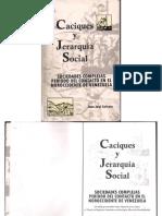 Caciques y Jerarquía Socioal. Juan Salazar