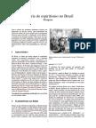 Histc3b3ria Do Espiritismo No Brasil
