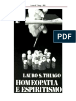 Homeopatia e Espiritismo - FEB
