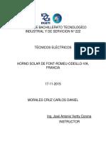 Horno Solar de Font-romeu-odeillo-Via, Francia
