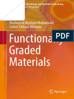 Functionally Graded Materials 2017