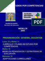 PLANES DE ESTUDIO MEDELLIN