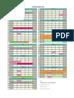 UniKL MIAT Academic Calendar 2018