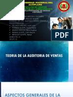 Primera Parte de Auditoria de Ventas - Plan de Auditoria de Gestion de Ventas de Empresa Ferreteria s.a.c