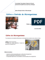 Aula5 Cultivo Controle Microrganismos