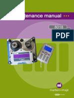 8018 Maintenance Manual Rev CB English