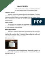 Solar Inverters Psg Itech Report