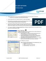 ADAP Test Definition Transfer