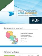 Presentación Foro Nacional Agua y Juventud_feb2018