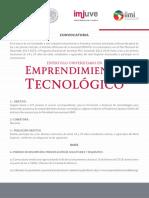 Emprendimiento Tecnológico 2018