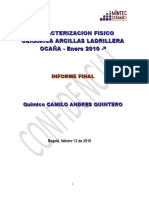 Informe 2 Caracterizacion de La Mina