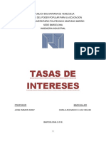 TASAS DE INTERESES.. CARLA ACEVEDO