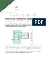 Cascade Control System Pada Proses HCO