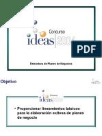 -Estructura Planes de Negocios