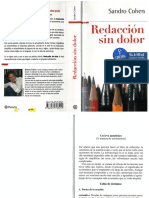 Cohen Sandro-Redaccion Sin Dolor