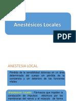 Anestesicos Localesdddsaa