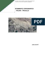 Informe Topografico Paijan
