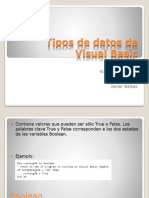 Tipos de Datos de Visual Basic