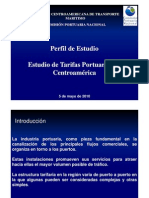 Perfil Estudio Tarifas Portuarias
