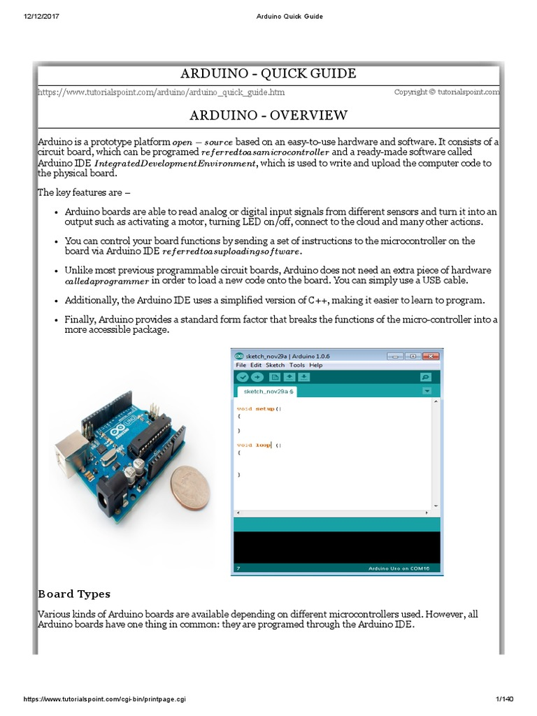 Arduino Quick Guide Integer Computer Science Data Type 10segment Led Bar Graph Circuit With An