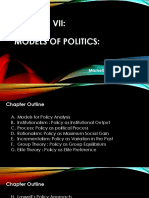 Chapter Vii - Public Policy