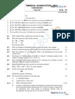Cbse Class 11 Chemistry Sample Paper Sa2 2014 1