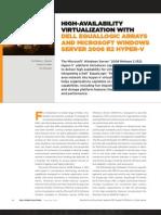 High Availability Virtualization