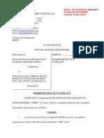 SHOPO Hawaii Labor Board complaint