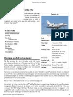 Dassault Falcon 50 - Wikipedia