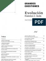 ¿Soy realmente un mono? de Ayala, F.J.(2012) Grandes Cuestiones. Evolución