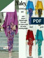 Baju Bati Kebaya Wanita Valerian Pesta Hijab Jumbo Xxl